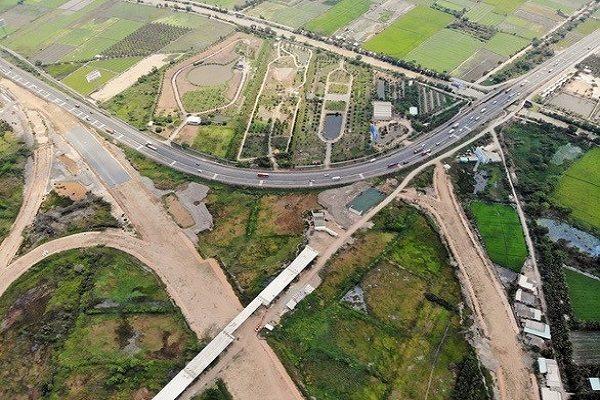 Tuyến đường An Hữu - Cao Lãnh sẽ kết nối vào cao tốc Trung Lương - Mỹ Thuận đang được xây dựng. Ảnh: baogiaothong.vn
