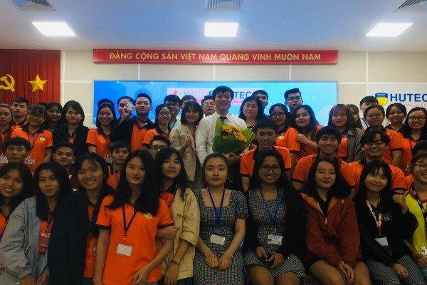 SVF hỗ trợ sinh viên khởi nghiệp tại HUTECH